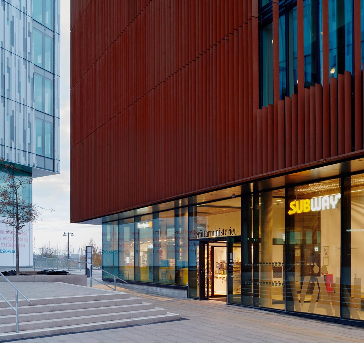 Världslitteraturhuset  i Göteborg